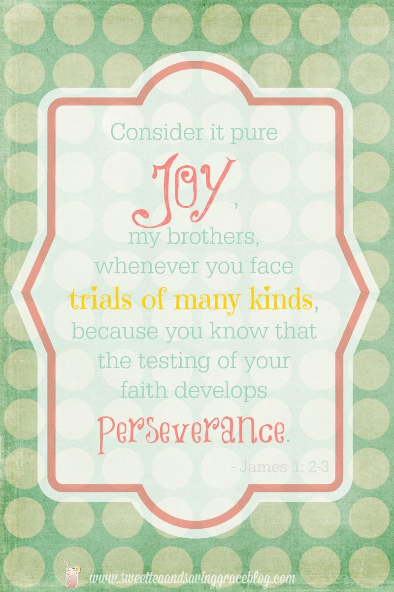 Experiecing Joy  |  Sweet Tea & Saving Grace
