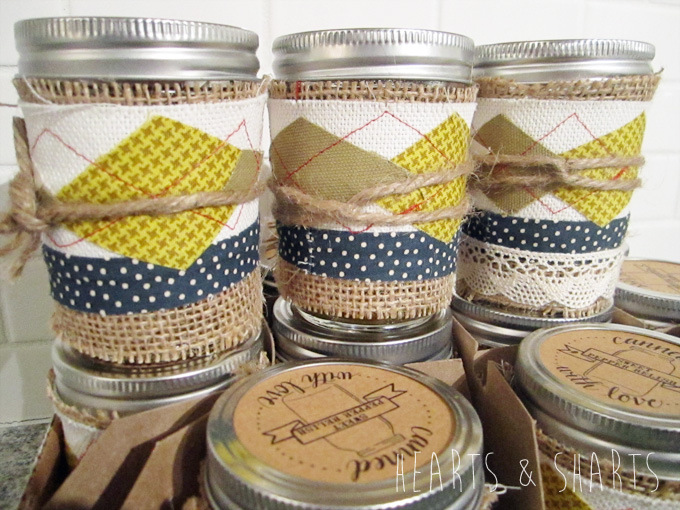 Jar Cozy  |  Hearts & Sharts