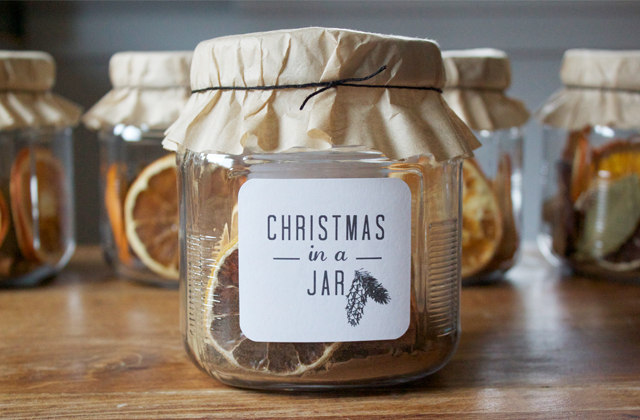 Christmas In A Jar  |  Dandee