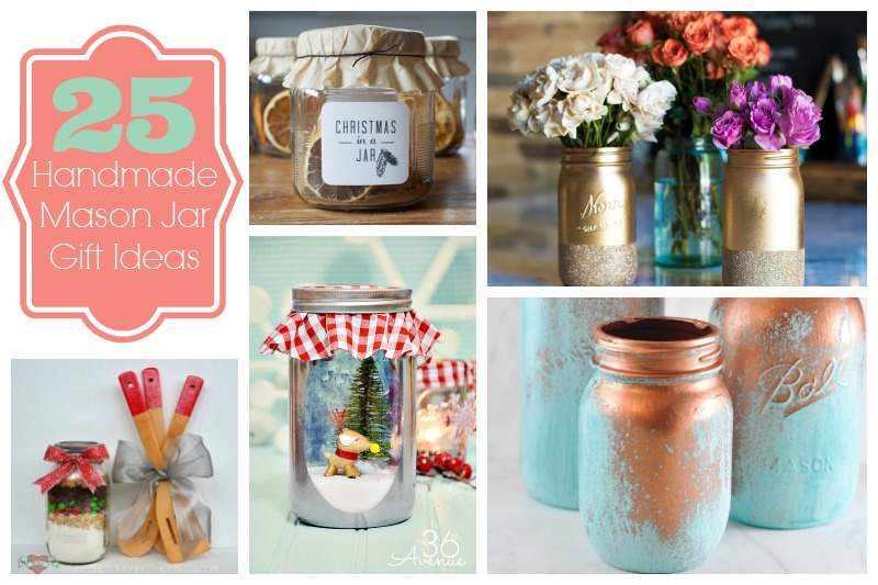 Library of Handmade Gifts – 25 Mason Jars Gifts
