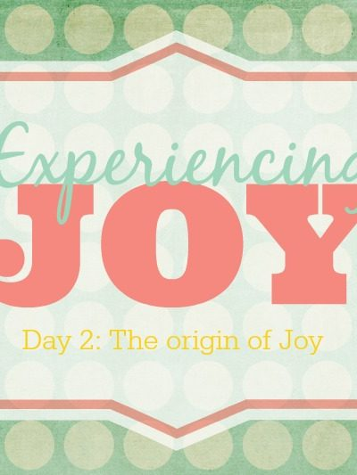 The Origin of Joy – Experiencing Joy