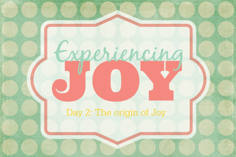 The Origin of Joy | Sweet Tea & Saving Grace