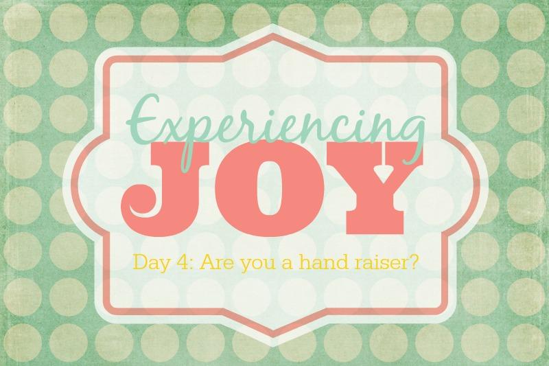 Experiencing Joy | Sweet Tea & Saving Grace