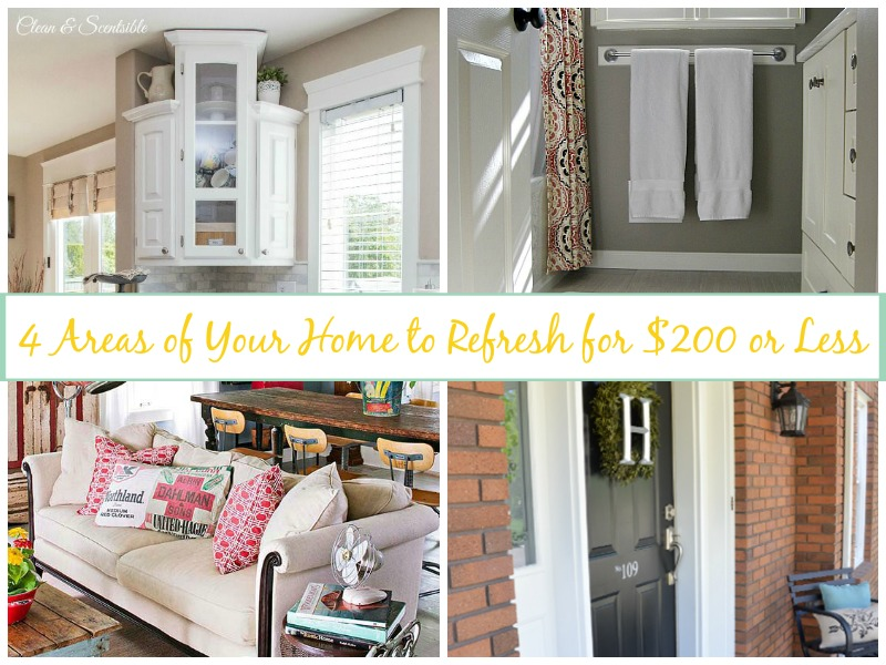 4 Areas of Your Home to Refresh for Under $200
