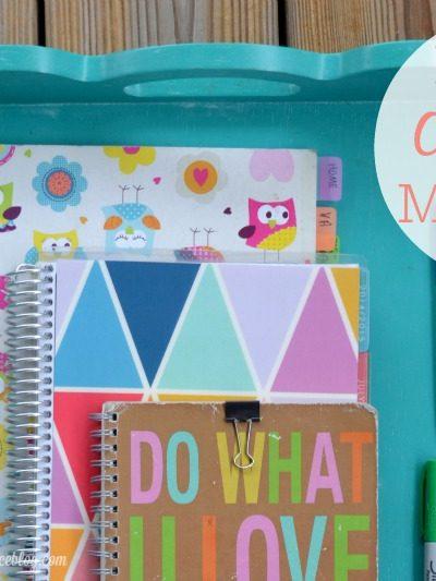 How I Organize My Brain