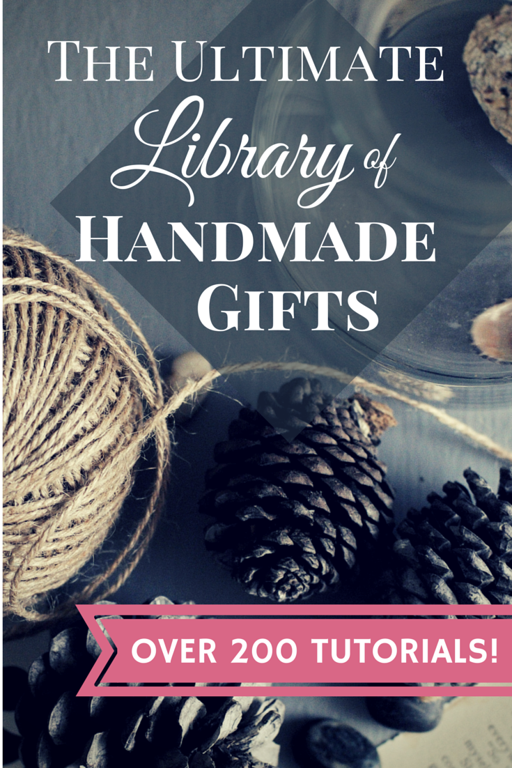 The Ultimate Library of Handmade Gifts  |  Sweet Tea & Saving Grace