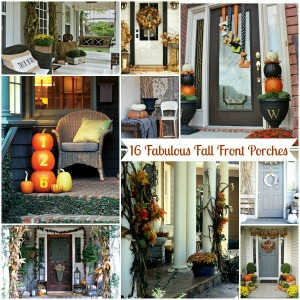 16 Fall Front Porches