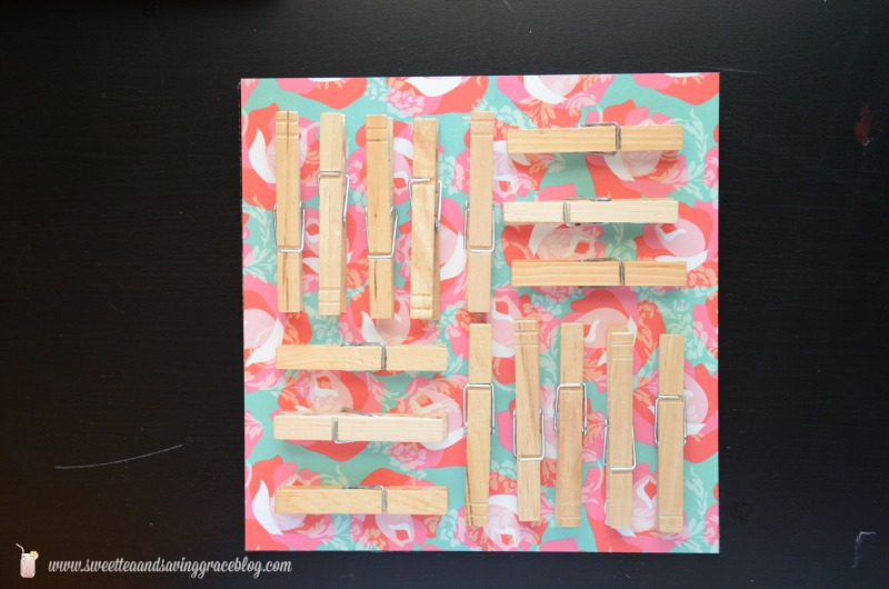 DIY Clothespin Art  |  Sweet Tea & Saving Grace