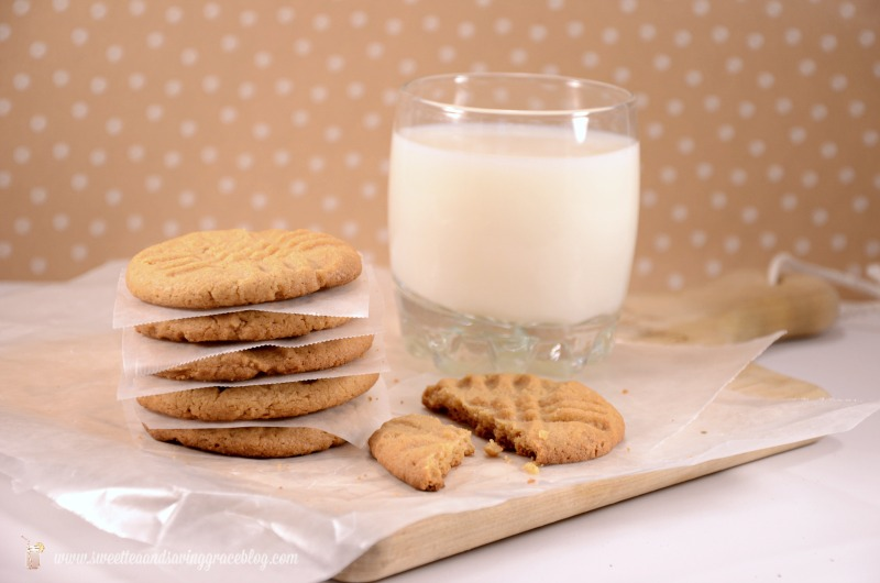 3 Ingredient Peanut Butter Cookies  |  Sweet Tea & Saving Grace