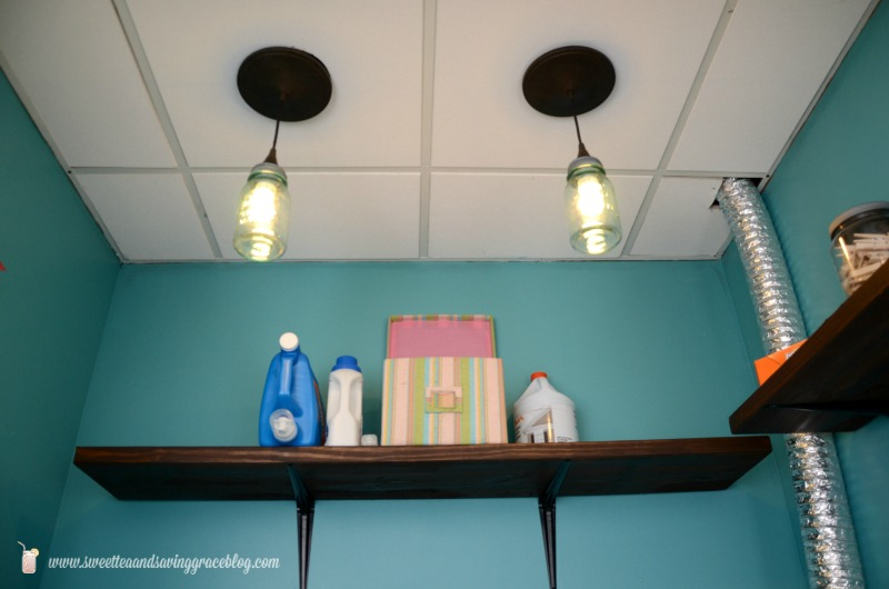Mason Jar Pendant Light  |  Sweet Tea & Saving Grace