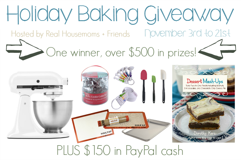 40 Holiday Baking Recipes + Giveaway