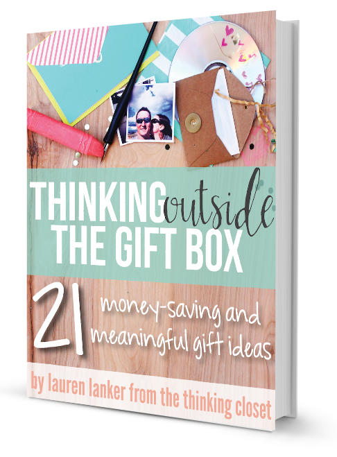 Thinking Outside the Gift Box Giveaway | Sweet Tea & Saving Grace