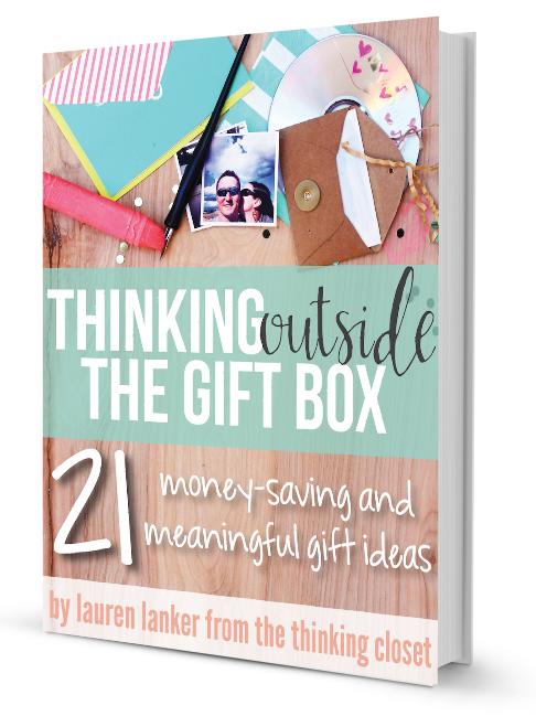 Thinking Outside the Gift Box Giveaway | Sweet Tea & Saving Grace