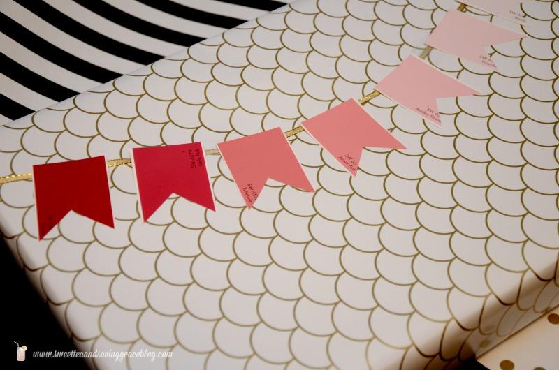Paint Chip Gift Wrap     Sweet Tea & Saving Grace