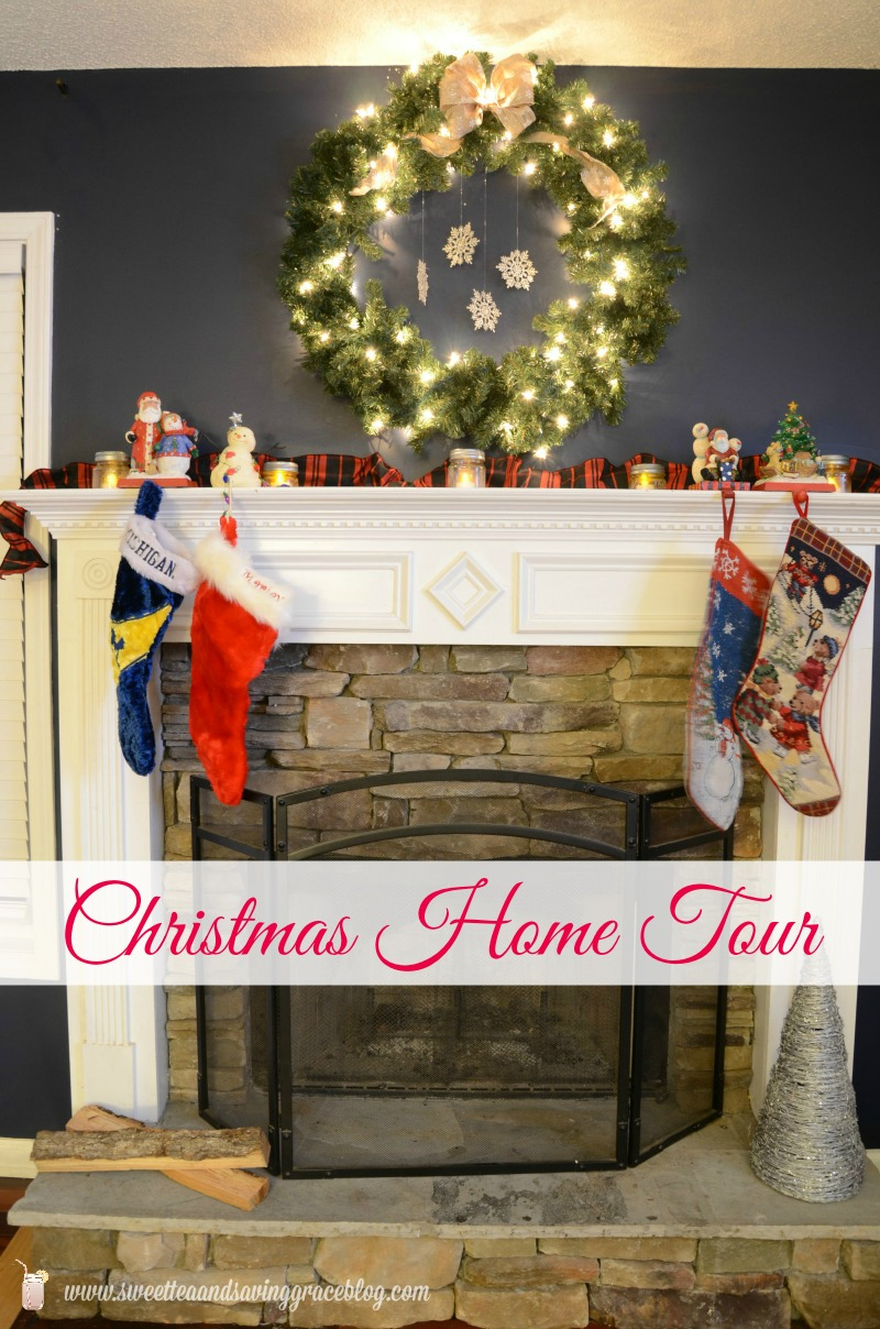 Christmas Home Tour | Sweet Tea & Saving Grace