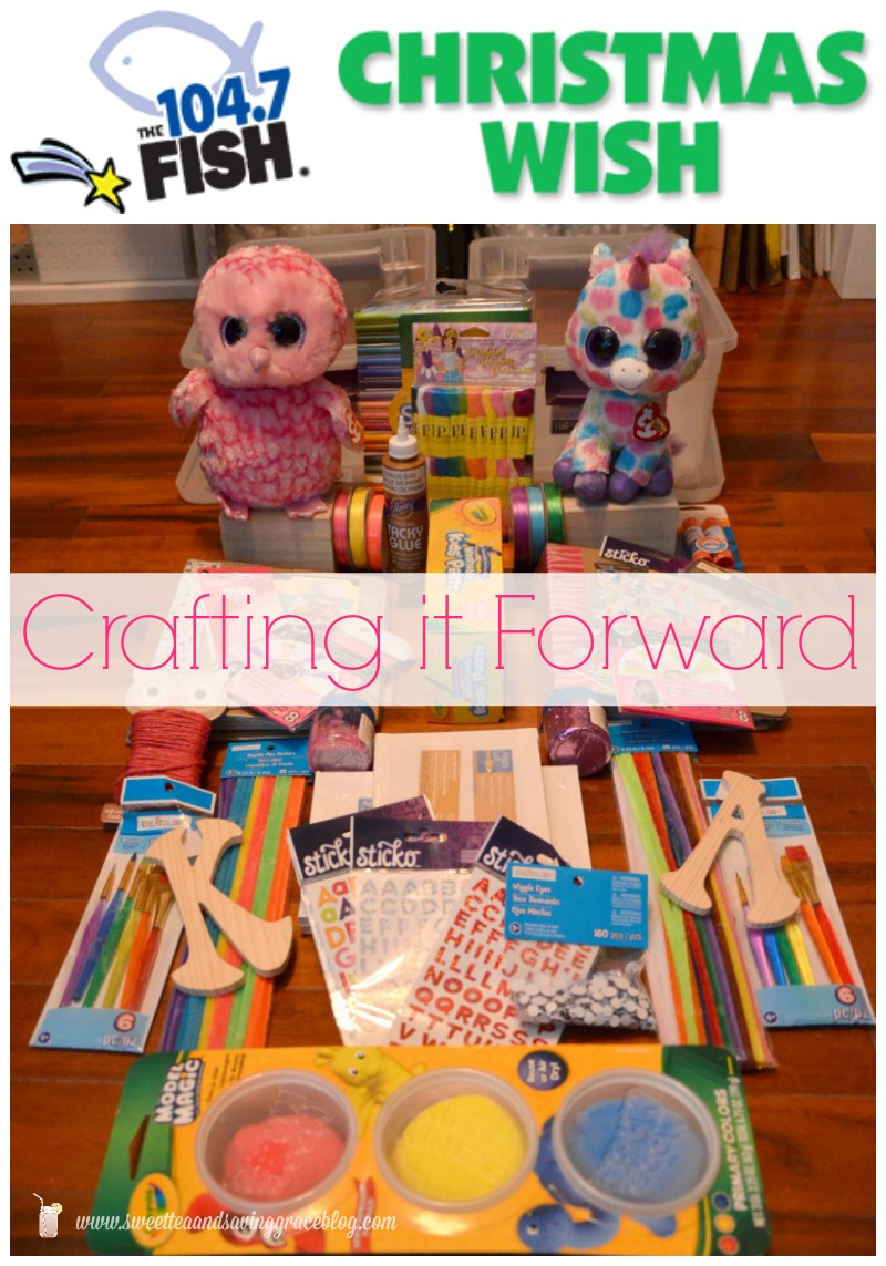 Crafting It Forward  |  Sweet Tea & Saving Grace