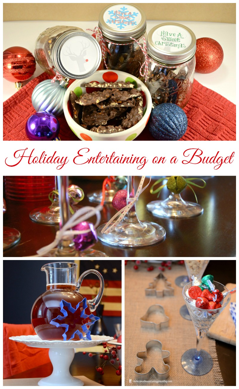 Holiday Entertaining on a Budget  #TasteTheSeason  |  Sweet Tea & Saving Grace