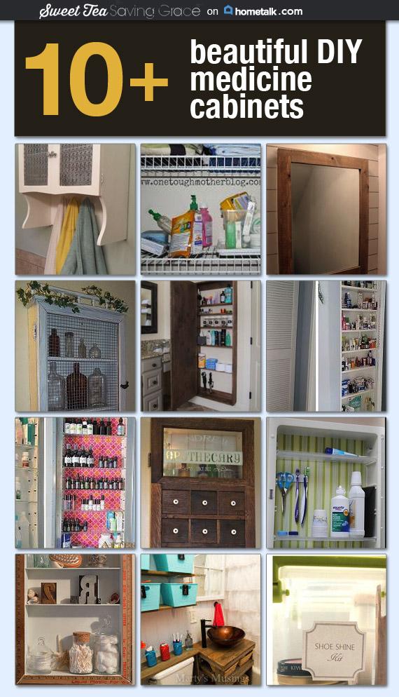 Medicine Cabinet Storage Ideas  |  Sweet Tea & Saving Grace