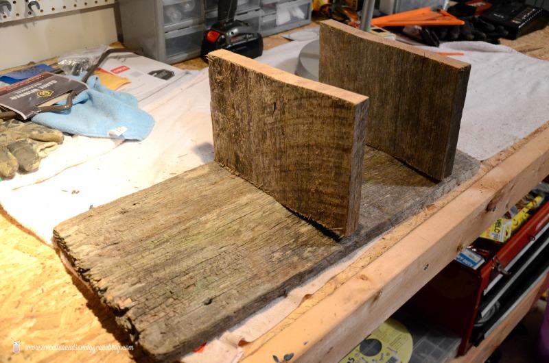 DIY Barn Wood Kitchen Shelf     Sweet Tea & Saving Grace