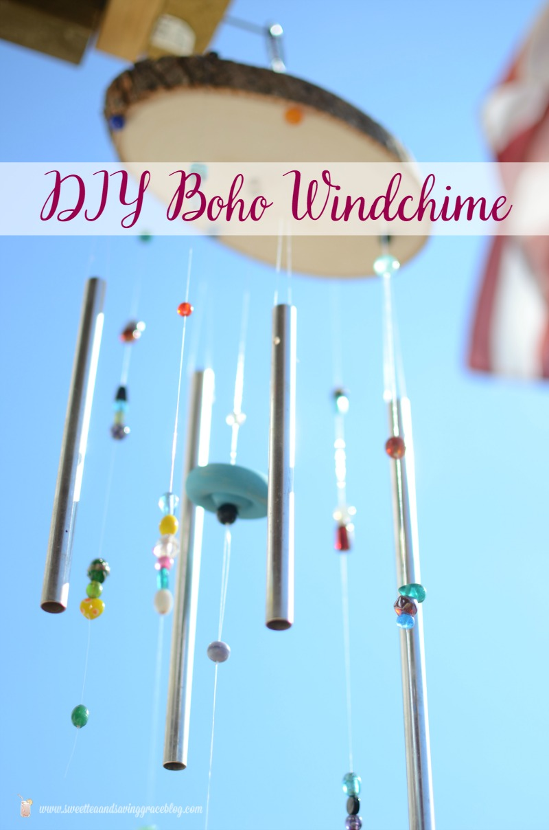 DIY Boho Windchime  |  Sweet Tea & Saving Grace