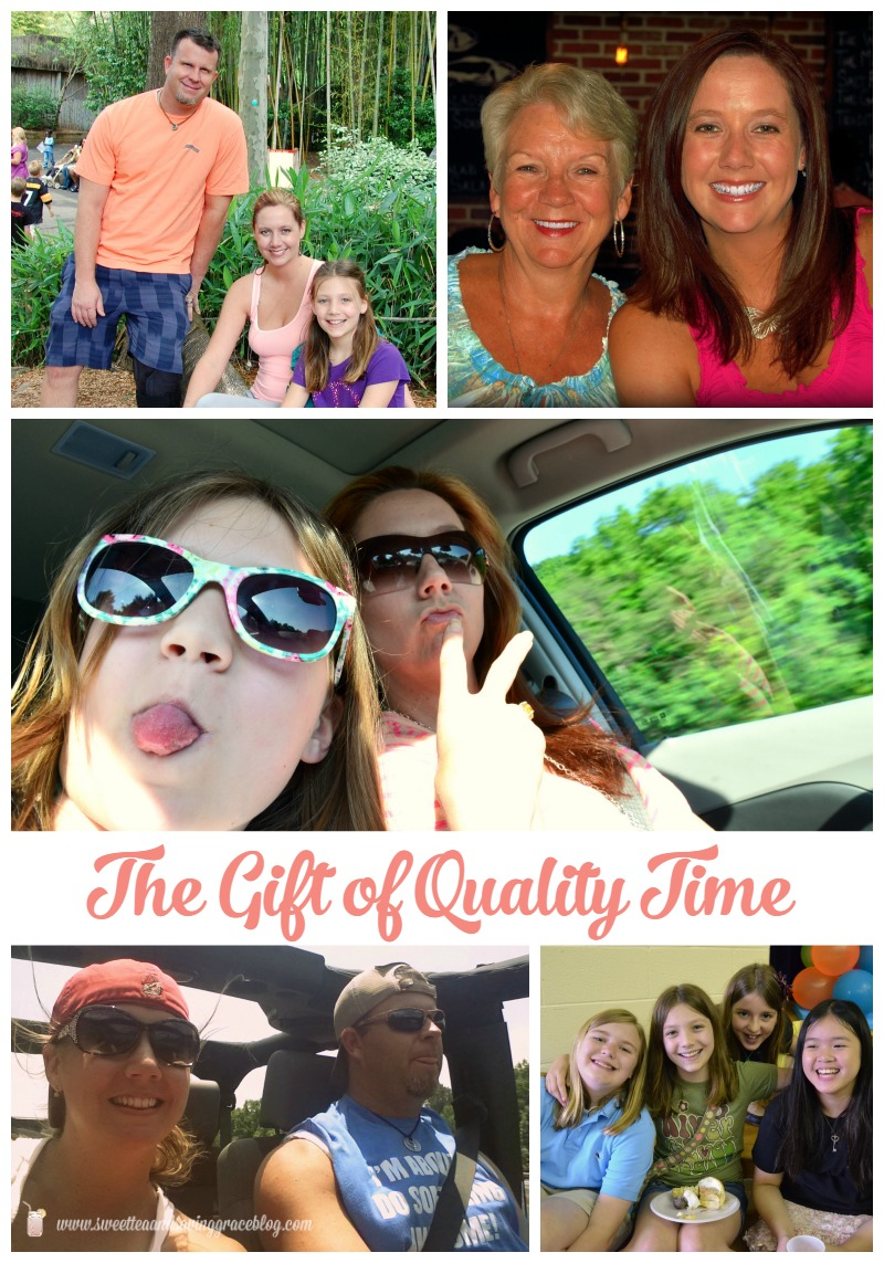 The Gift of Quality Time  |  Sweet Tea & Saving Grace