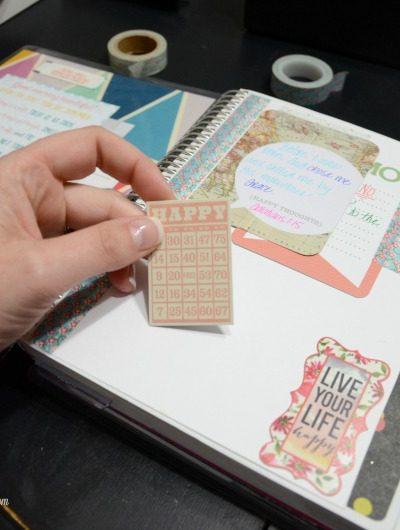 DIY Life Planner Vision Board