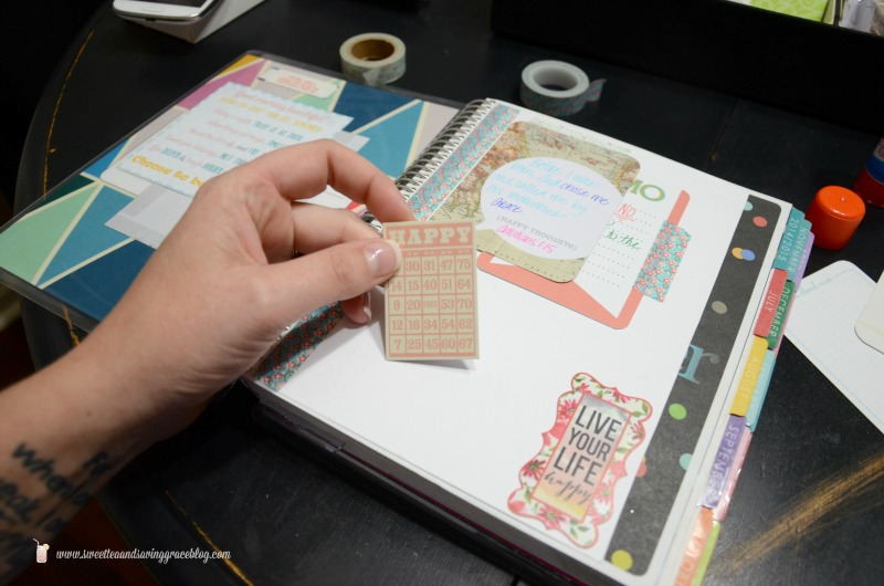 Life Planner Vision Board | Sweet Tea & Saving Grace
