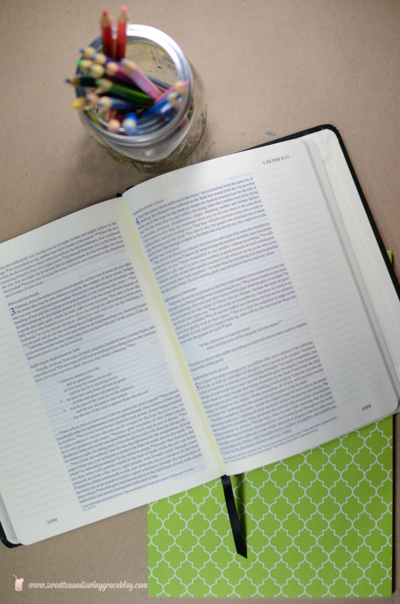 Journaling Your Faith  |  Sweet Tea & Saving Grace