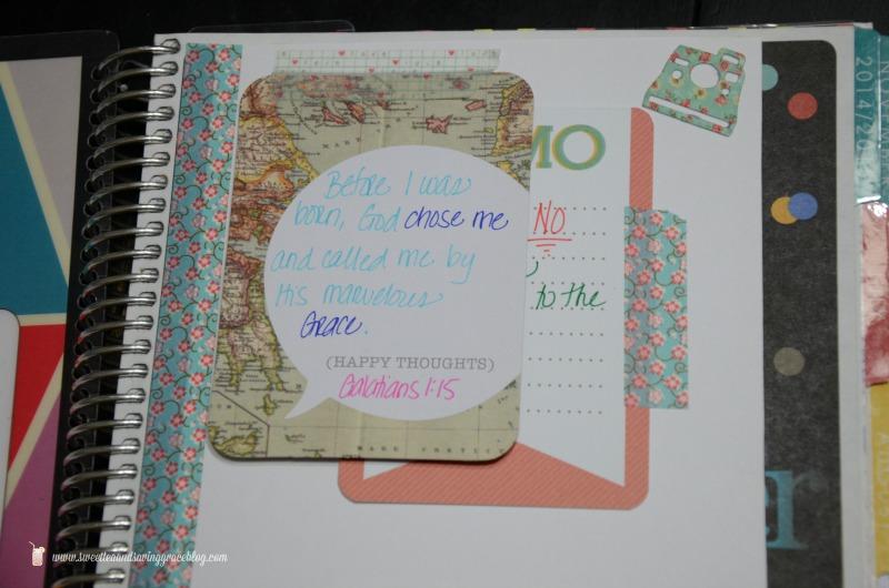 Life Planner Vision Board  |  Sweet Tea & Saving Grace