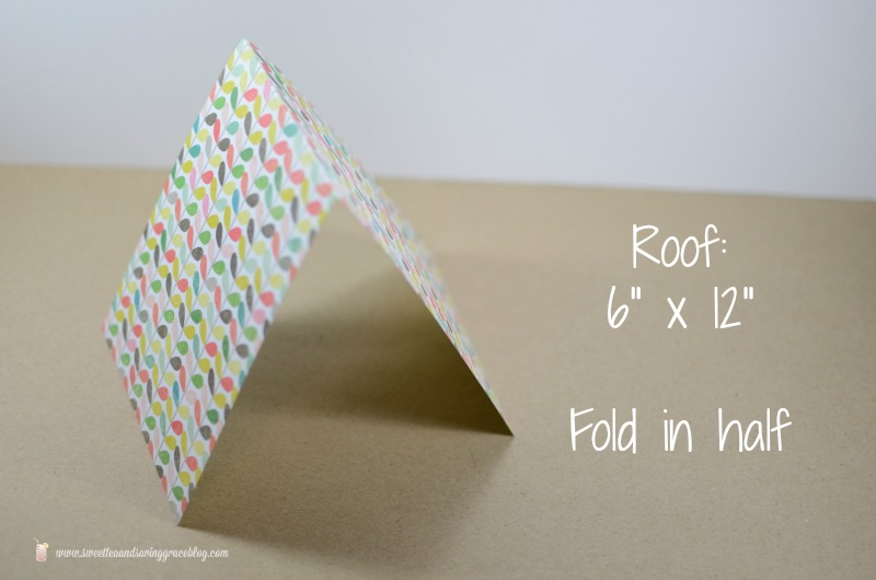 DIY Cardstock Bird House  |  Sweet Tea & Saving Grace