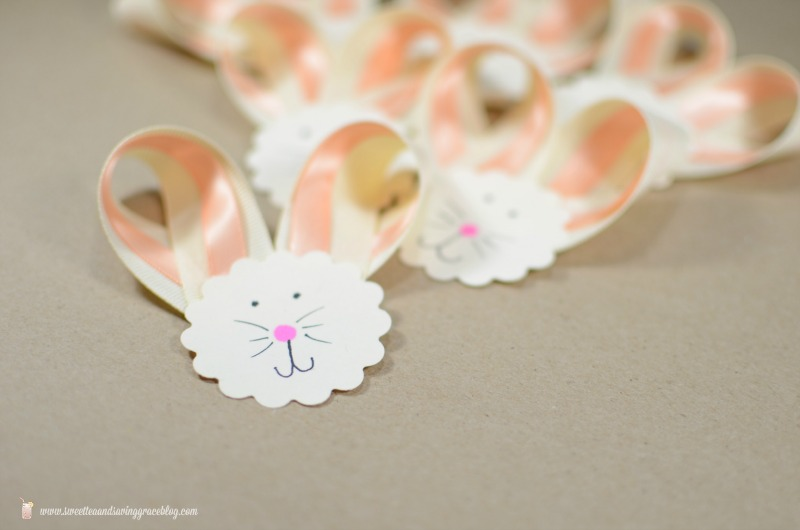 DIY Ribbon Bunny Easter Wreath | Sweet Tea & Saving Grace