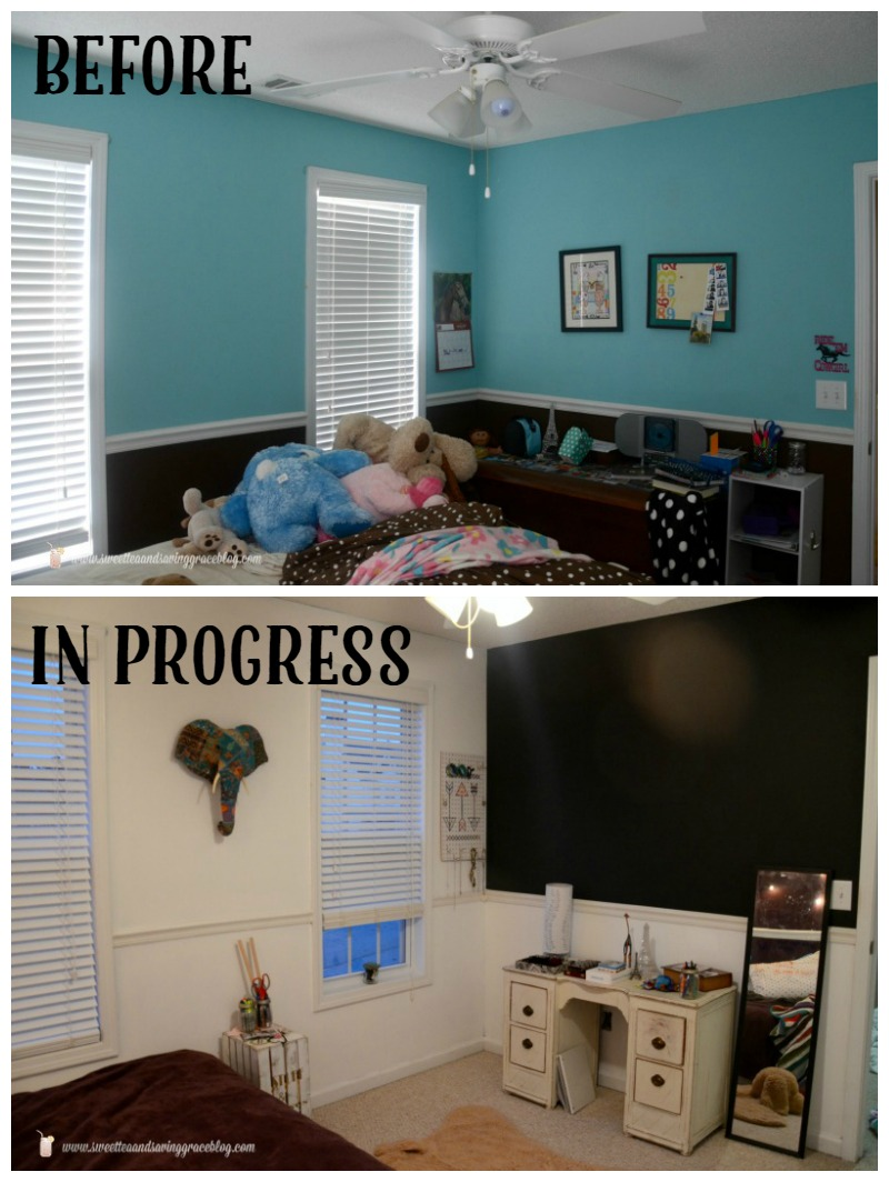 Boho Bedroom in Progress  |  Sweet Tea & Saving Grace