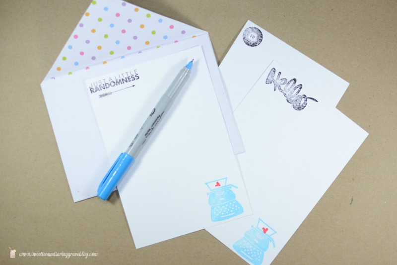 DIY Custom Stationary + Ideas for Letter Writing