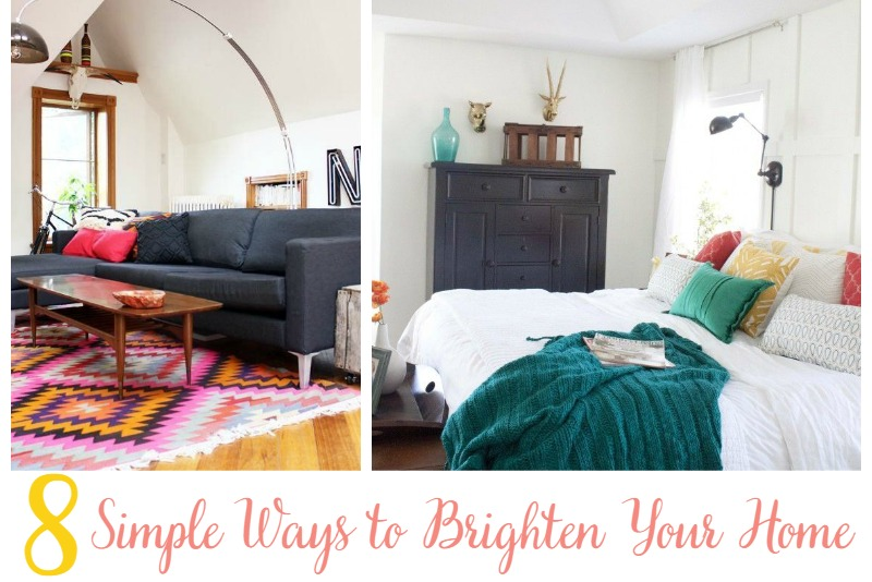 8 Simple Ways to Brighten Your Home | Sweet Tea & Saving Grace