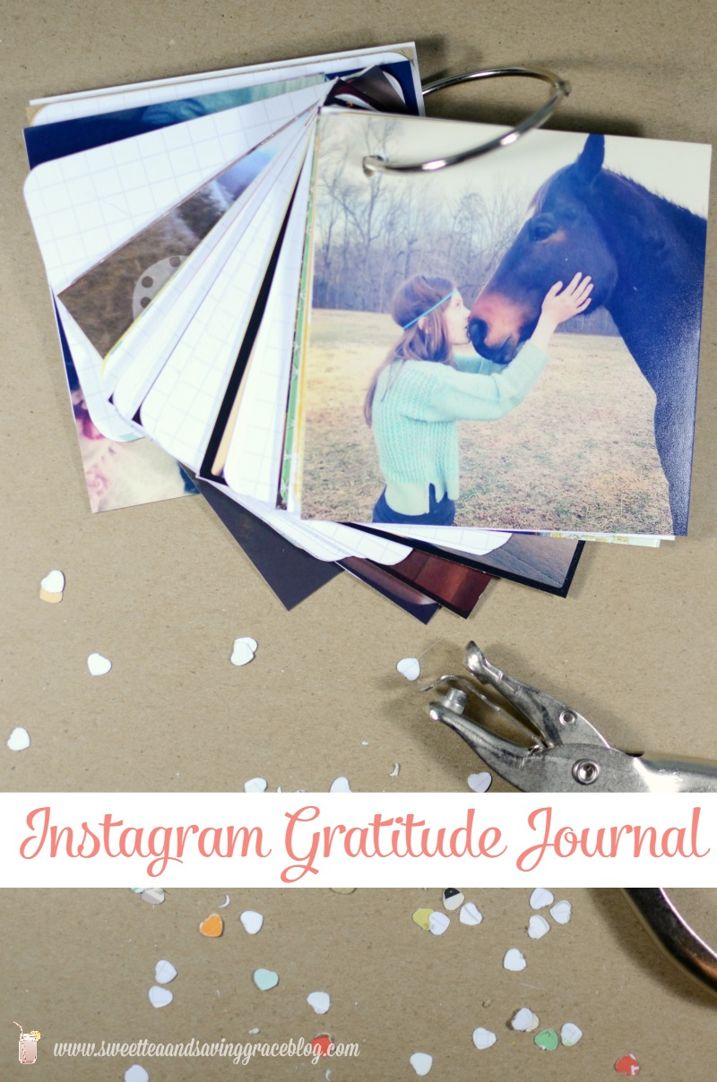 Instagram Gratitude Journal  |  Sweet Tea & Saving Grace