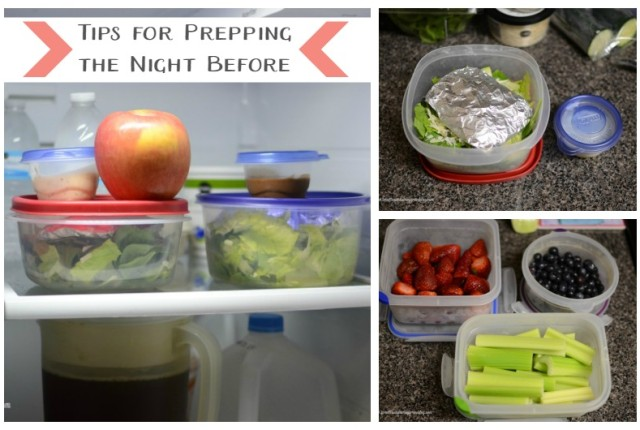 Tips for Prepping the Night Before  |  Sweet Tea & Saving Grace