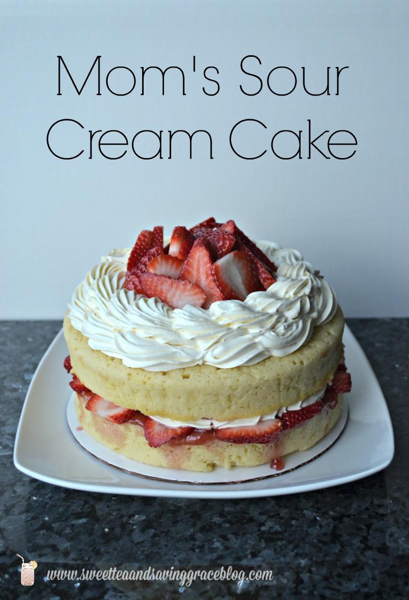 Sour Cream Cake  |  Sweet Tea & Saving Grace