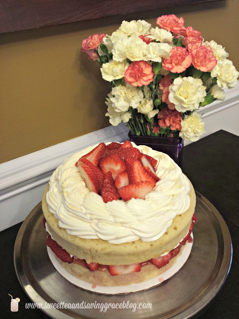 Sour Cream Cake     Sweet Tea & Saving Grace