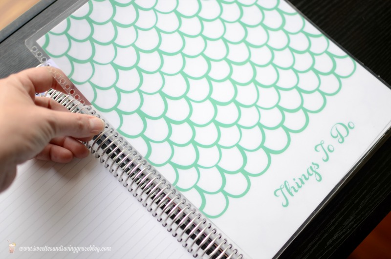 Erin Condren Deluxe Notebook Review | Sweet Tea & Saving Grace