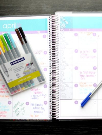 Erin Condren Deluxe Notebook Review