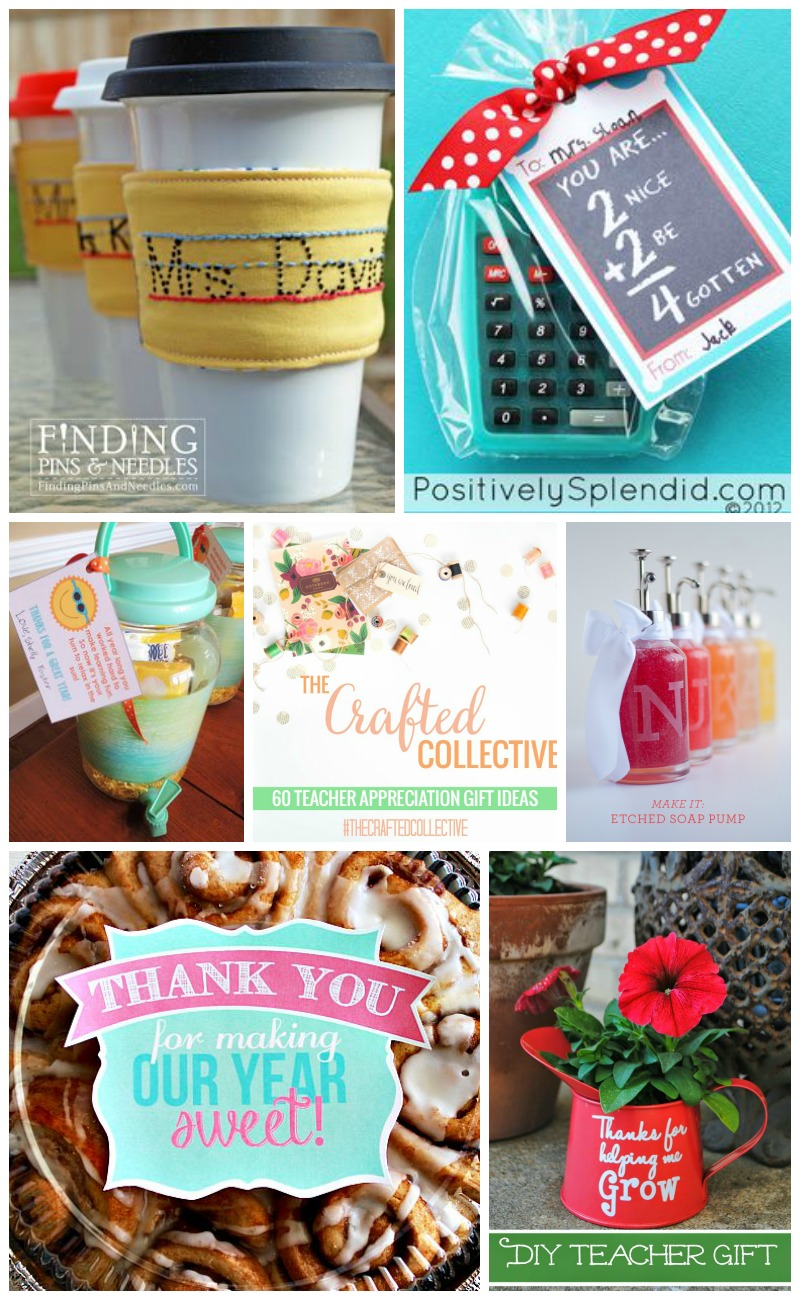60 Teacher Appreciation Gifts #TheCraftedCollective | Sweet Tea & Saving Grace