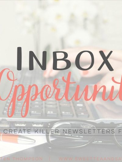Introducing An Inbox of Opportunity Ecourse
