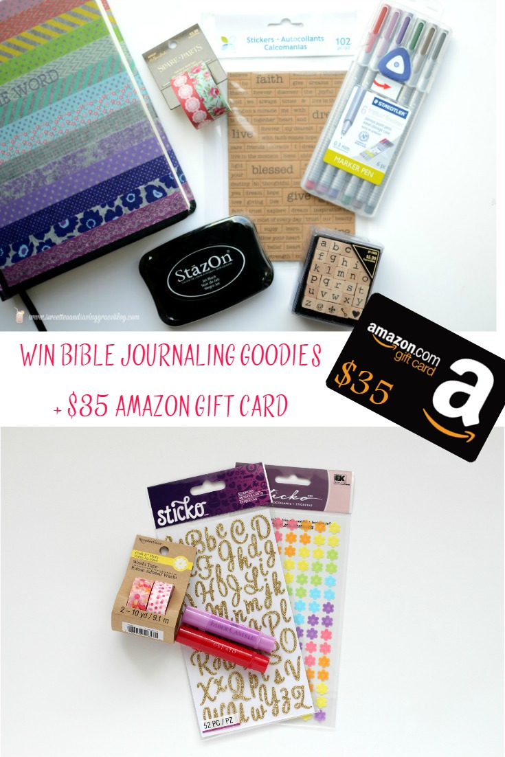 Mother's Day Bible Journaling Giveaway  |  Sweet Tea & Saving Grace