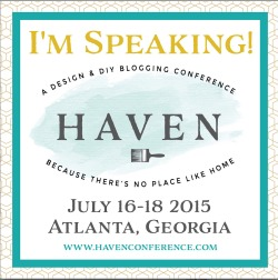 I'm Speaking at Haven 2015!
