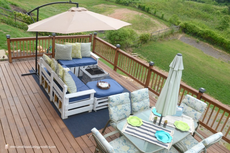 Creating an Outdoor Living Space | Sweet Tea & Saving Grace