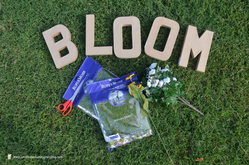 BLOOM Moss Decor  |  Sweet Tea & Saving Grace