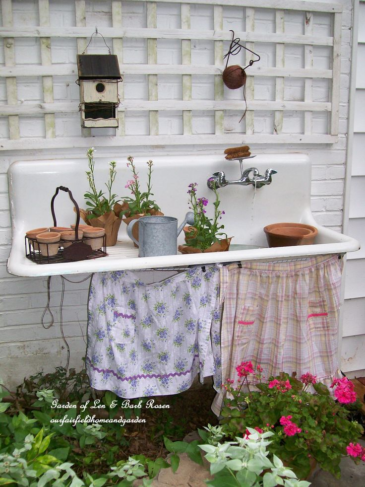 Portable Outdoor Mini Sink U0026amp Faucet Garden Wash Area W Hose