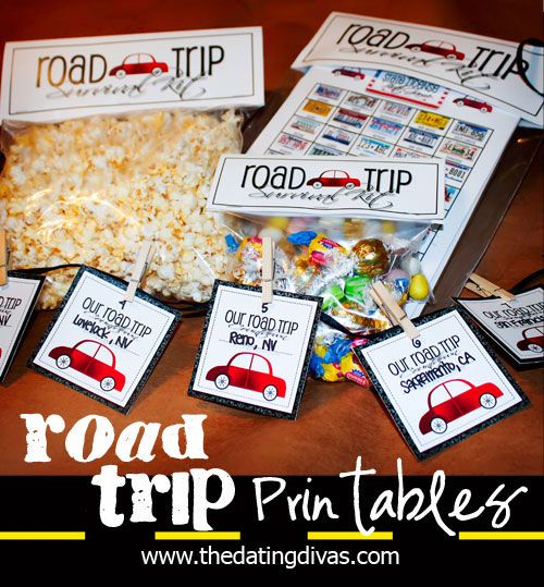 60 Road Trip Activities & Treats  |  Sweet Tea & Saving Grace
