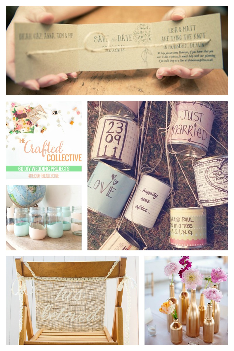 60 DIY Wedding Ideas
