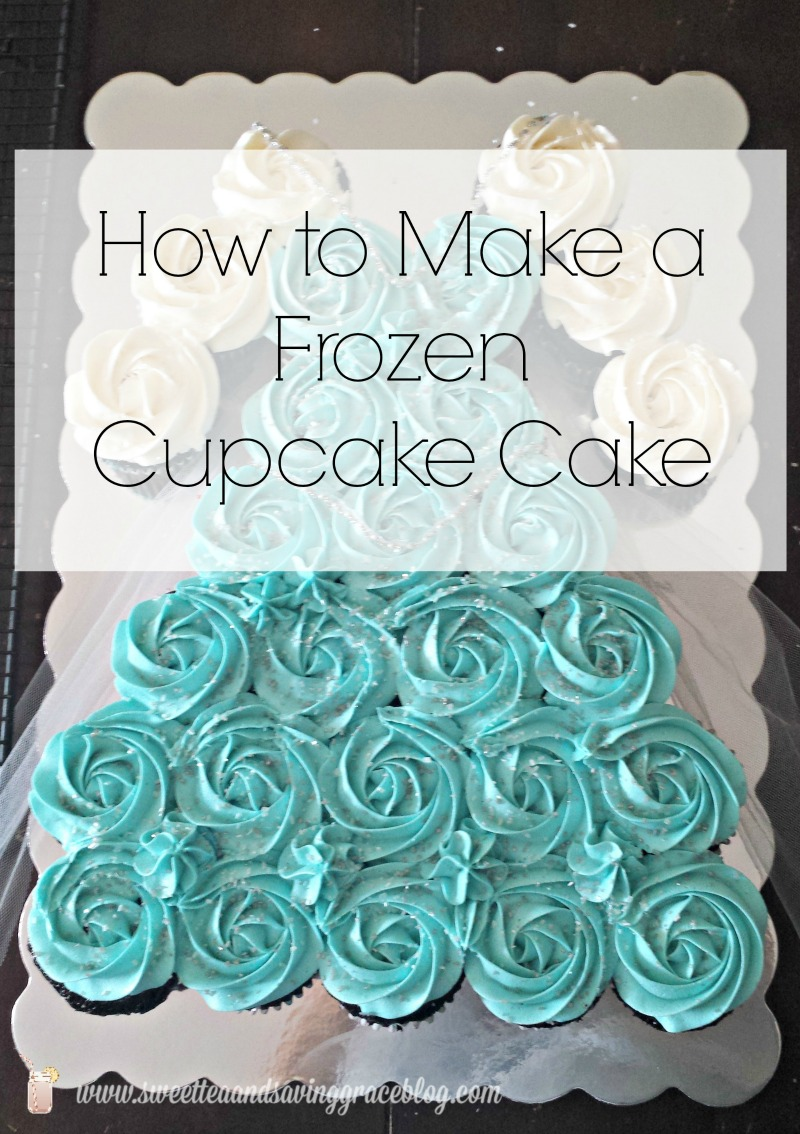 How To Make A Frozen Cupcake Cake Sweet Tea Amp Saving Grace